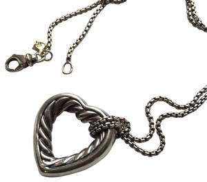 David Yurman David Yurman Small Heart Necklace