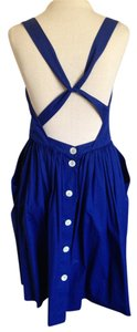 Rugby Ralph Lauren short dress Cobalt Blue Summer Cotton on Tradesy