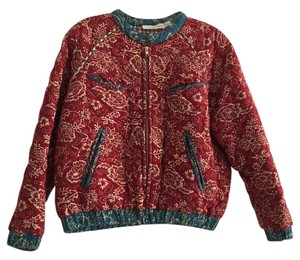 Isabel Marant Quilted Etoile Red and blue Jacket