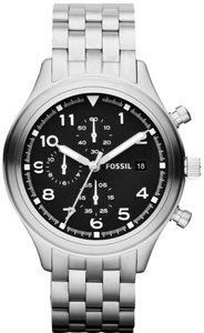 Fossil Fossil Male Dress Watch JR1431 Black Chronograph