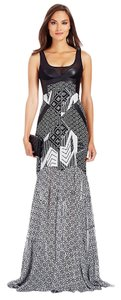 Grey/Black Maxi Dress by Diane von Furstenberg