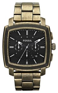 Fossil Fossil Male Dress Watch JR1399 Black Chronograph