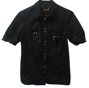 LaROK Button Down Shirt Black