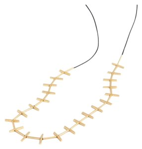 Madewell Madewell gold beam necklace