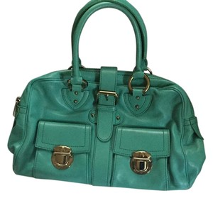 Marc Jacobs Venetia Spearmint Satchel in Blue
