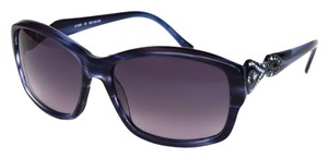 Judith Leiber New Judith Leiber Blue Sunglasses with crystals