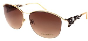 Judith Leiber New Judith Leiber Gold Sunglasses with crystals