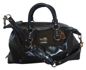 Coach Satchel in Charcoal