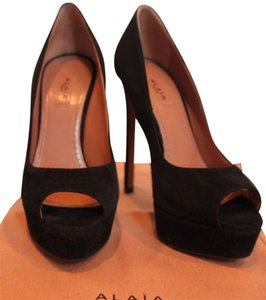ALAÏA Peep Toe Pump Black Pumps