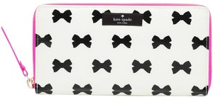 Kate Spade Kate Spade New York Daycation Neda Wallet, Cream/Black/Pink