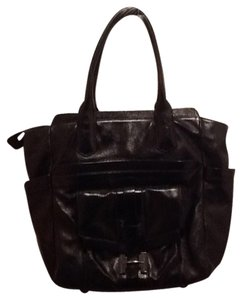 Halston Tote in Black