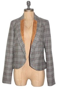 Anthropologie Plaid Jacket Blazer