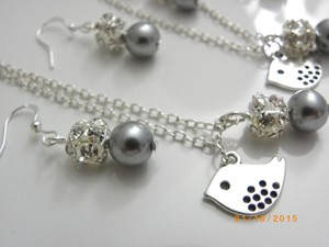 Other Set Of 7 Bridesmaid Necklaces And Earrings