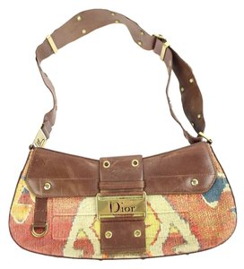 Dior Saddle Hobo Grommet Beans Shoulder Bag
