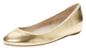 Elorie Leather Ballet Gold Flats