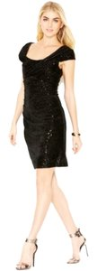 Jessica Simpson Velvet Sequin Dress