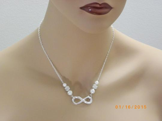 Cream White Grey Pink Set Of 6 Infinity Bridesmaid Infinity Charm Set Of Bridesmaid Infinity Necklace