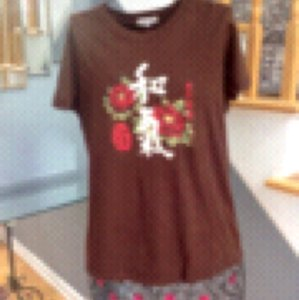 Lucky Brand T Shirt Brown