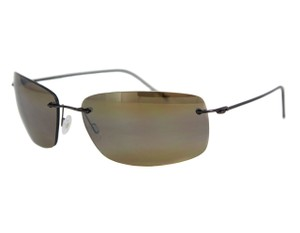 Maui Jim MAUI JIM H716-25A Sunglasses FRIGATE Gloss Dark Brown Frame