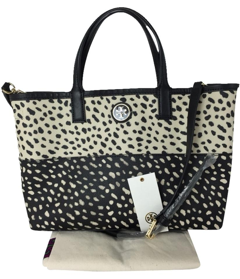 8ce39657ca8 Tory Burch Kerrington Shopper Dotted Pony Combo Tote - Tradesy