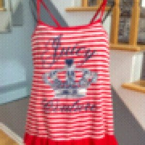 Juicy Couture Top Red/Blue