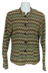 Charter Club Chevron Wool Casual Cardigan