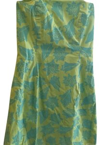 Lilly Pulitzer short dress Green and Blue on Tradesy