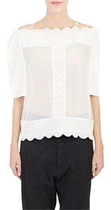 Isabel Marant Zimmermann Iro Dvf Tory Burch The Row Top White