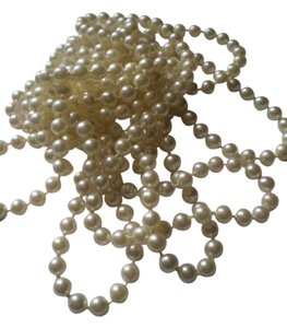 Other Miles o' faux pearls necklace