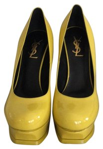 Saint Laurent Yellow Pumps