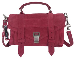 Proenza Schouler Satchel in Raspberry