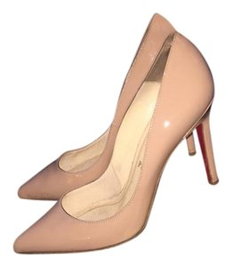 Christian Louboutin Sexy Luxury Nude Pumps
