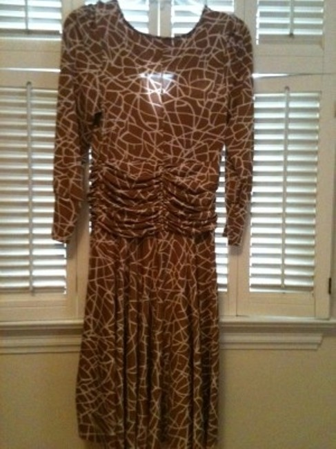 BCBGMAXAZRIA Bcbg Max Azria Spring Animal Dress