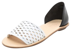 Loeffler Randall Black and White Sandals