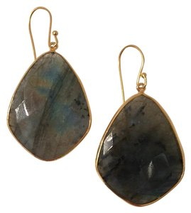 Argento Vivo Labradorite Drop Earrings
