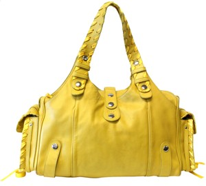 Chloé Travel Jumbo Large Lock Paddington Tote in Yellow
