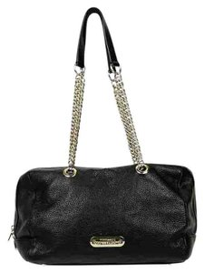 Versace Collection Leather Chain Shoulder Bag