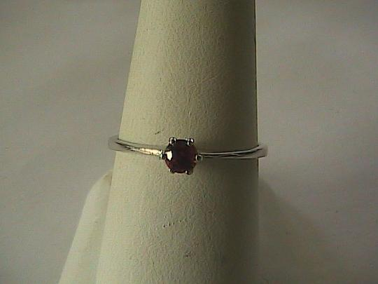Unknown Sterling Silver Natural Sapphire Ring