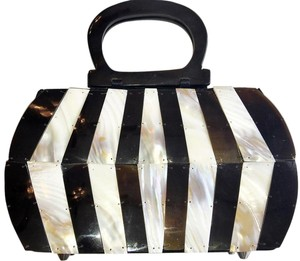 Mad Mother Of Pearl Handbag Baguette