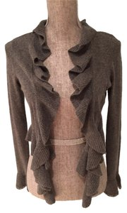 INC International Concepts Shrug Small Grey Shrug Cardigan