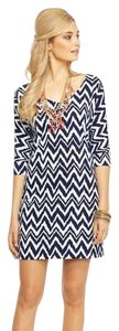 Lilly Pulitzer short dress Navy Eliza Get Your Chev On on Tradesy