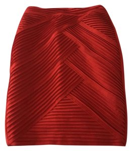 Catherine Malandrino Skirt Red