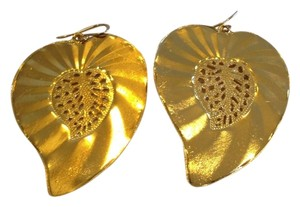 Other DEVON LEIGH AUTHENTIC NWT GOLD LEAF EARRINGS
