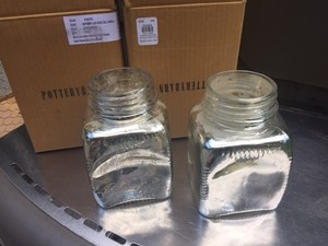 17 Mercury / Metallic Pottery Barn Vases