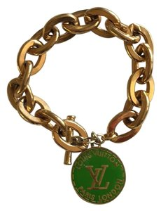 Louis Vuitton Louis Vuitton Gold toggle bracelet ON SALE!