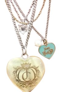 Juicy Couture Juicy Couture multi strand charmed necklace
