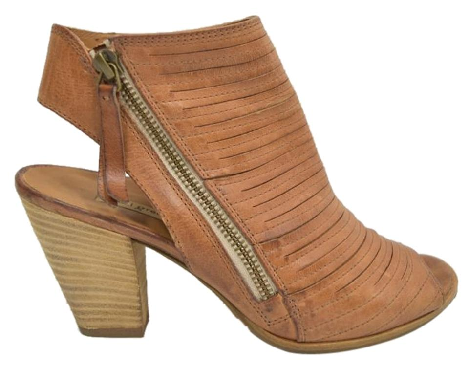 6c152e1e8c Paul Green Brown  cayanne  Leather Peep Toe Cuoio Leather Sandals ...