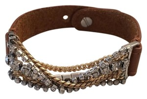 Banana Republic beautiful leather jeweled bracelet