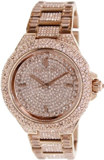 Preload https://item5.tradesy.com/images/michael-kors-rose-gold-tone-camille-dial-watch-1673284-0-0.jpg?width=440&height=440