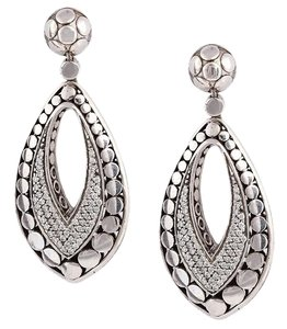 John Hardy Diamond Dots Earrings